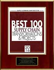 Amazing Print | Best 100 Supply Chain Transformations & Projects 2016