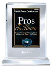 Pros to Know 2013 | Supply and Demand Chain Executive Magazine | Amazing Print Tech