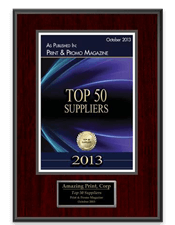 Top 50 Suppliers 2013 | Print Professional Magazine | Amazing Print Tech