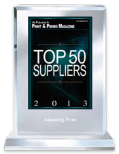 Top 50 Suppliers 2013 | Print And Promo Magazine | Amazing Print Tech