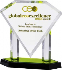 Leaders in Web to Print Technology 2018 | Global Excellence Awards, CEO Monthly