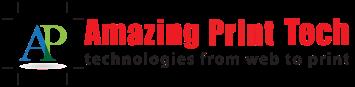 Web to Print software by Amazing Print Tech Logo