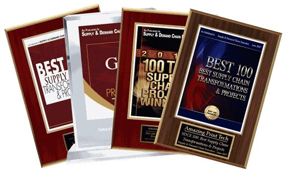 Best 100   Supply and Demand Chain Executive Magazine   Amazing Print Tech