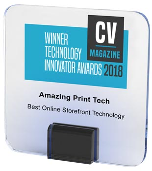 2018 Best Online Storefront Technology | Corporate Vision Magazine | Amazing Print Tech
