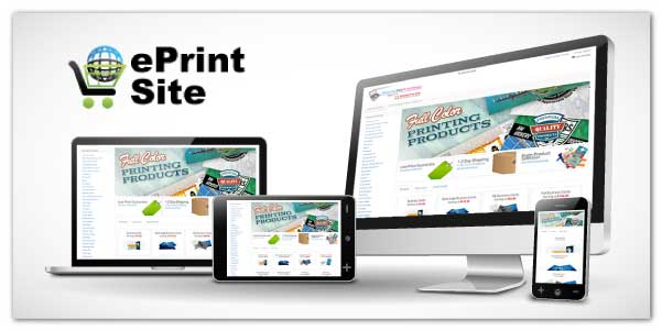 ePrintSite | Instant Online Estimates | 100s Pre-Built Products